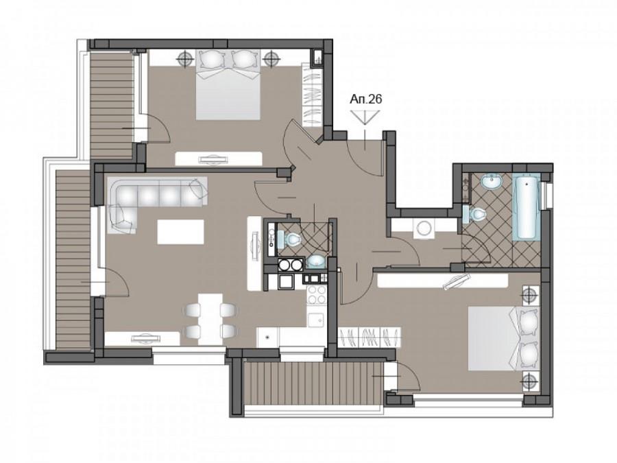 Апартамент 26