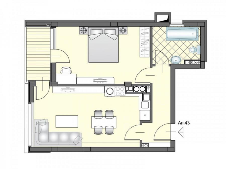 Апартамент 43