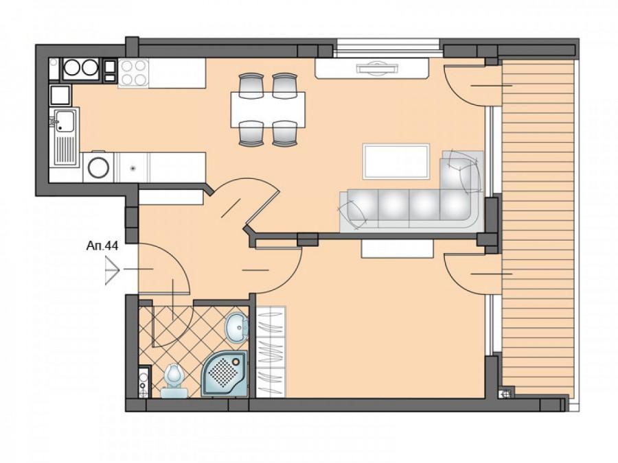 Апартамент 44