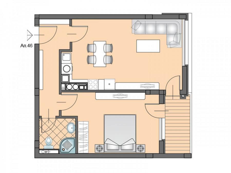 Апартамент 46